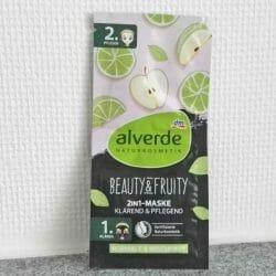 Produktbild zu alverde Naturkosmetik Beauty & Fruity 2in1-Maske