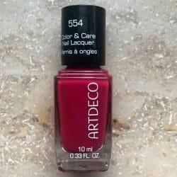 Produktbild zu ARTDECO Color & Care Nail Lacquer – Farbe: 554 beautiful raspberry