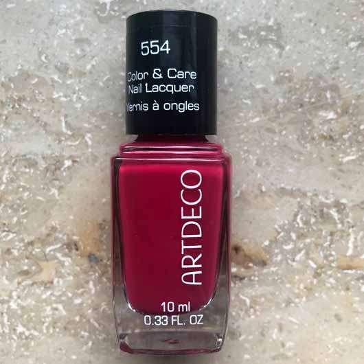ARTDECO Color & Care Nail Lacquer, Farbe: 554 beautiful raspberry