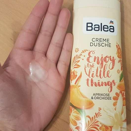 Konsistenz - Balea Cremedusche Enjoy the little things (LE)