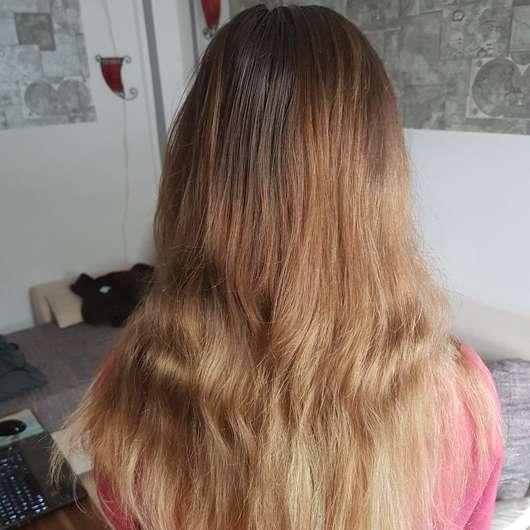 Haare vor dem Test - CD Naturkraft Feuchtigkeit & Glanz Sprühkur