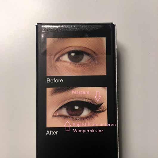 KISS Professional New York Magical Ink Eyeliner, Farbe: Blackest Black