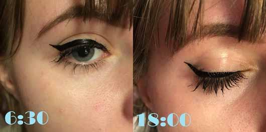 KISS Professional New York Magical Ink Eyeliner, Farbe: Blackest Black - Lidstrich