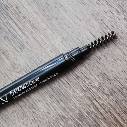 Bürstchen - L.O.V BROWttitude Eyebrow Designer, Farbe: 210 Honey