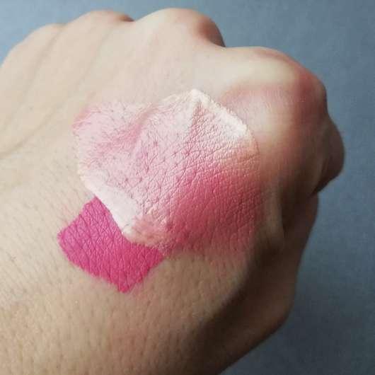 Lippenstift + Highlighter darüber => aufgelöst