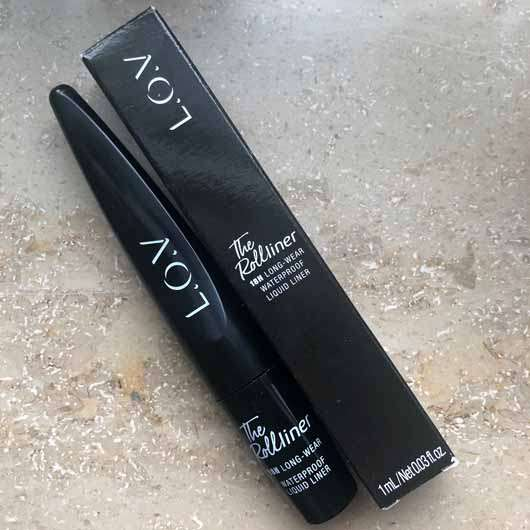 L.O.V THE ROLLliner 18h Long-Wear Waterproof Liquid Liner, Farbe: 100 Wolf's Black