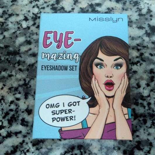 <strong>Misslyn</strong> Eye-Mazing Eyeshadow Set - Farbe: OMG I Got Super Power!