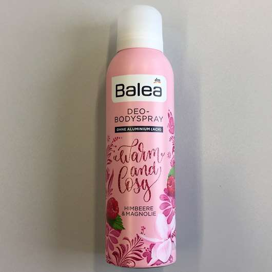 Balea Deo-Bodyspray Warm & Cosy (LE)