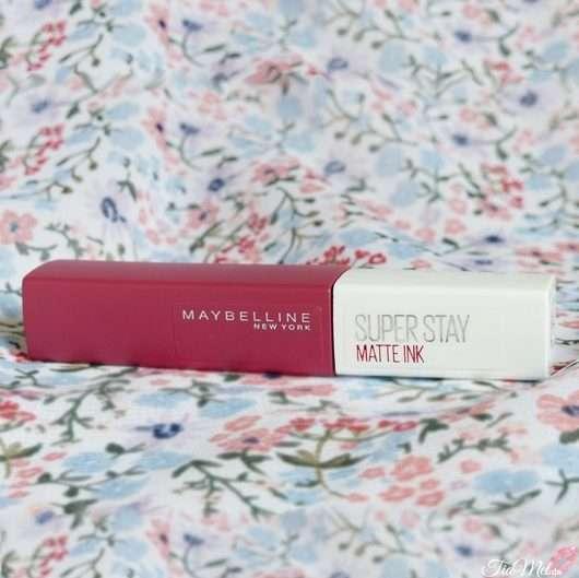 Maybelline New York Super Stay Matte Ink Lipstick, Farbe: 580 Ruler