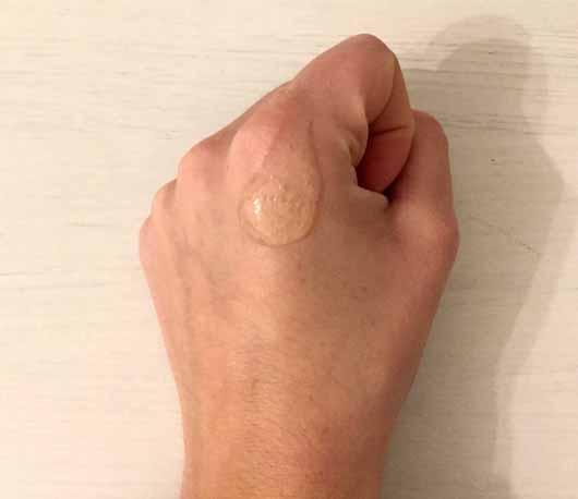 Alterra Sensitiv-Shampoo Jojoba & Bio-Mandel - Konsistenz