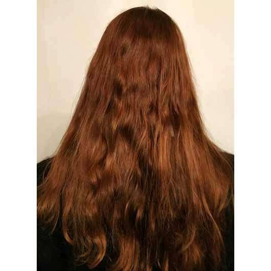 """alverde festes Shampoo """"Mandarine-Basilikum"""" - Haare nach der Anwendung"""
