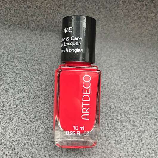 <strong>ARTDECO</strong> Color & Care Nail Lacquer - Farbe: 445 loved nails