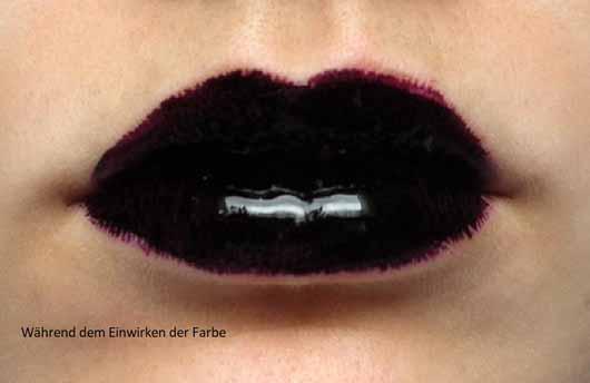BeYu Lips To Dye, Farbe: 12 Scandal - Lippen mit Lip Tint