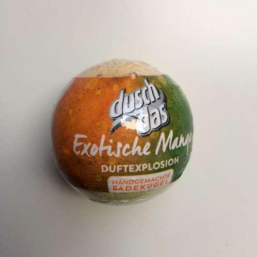 <strong>duschdas</strong> Exotische Mango Handgemachte Badekugel