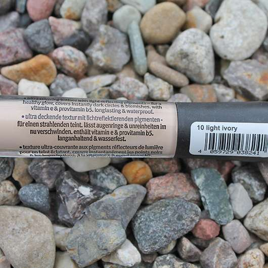 Verpackungsaufschrift - essence camouflage + healthy glow concealer, Farbe: light ivory