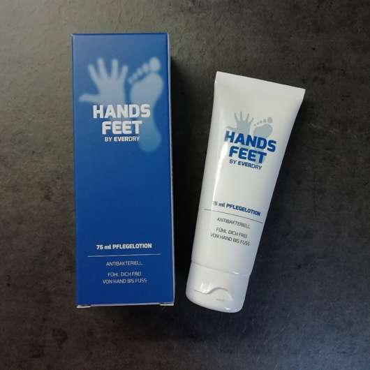 everdry Antibakterielle Hands & Feet Pflegelotion