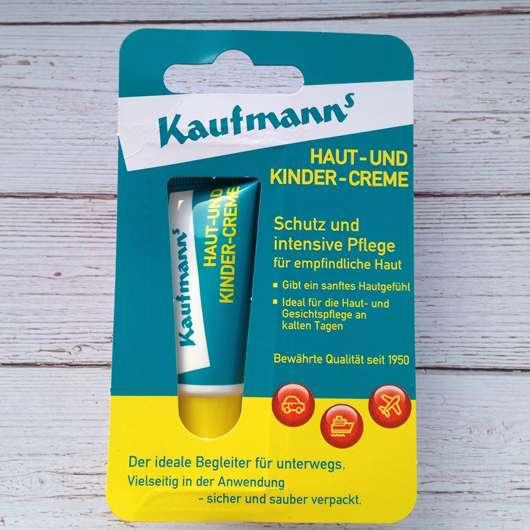 <strong>Kaufmanns</strong> Haut- und Kindercreme (Tube)