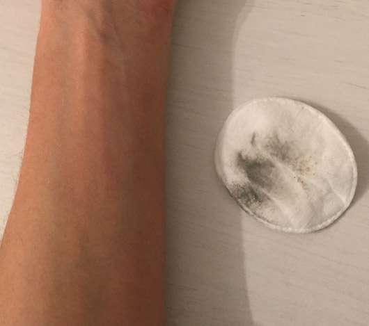 MOY by Stefanie Giesinger Cleansing Gel - Reinigungssimulation Ergebnis