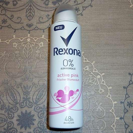 <strong>Rexona</strong> Active Pink Deodorant Spray (ohne Aluminiumsalze)