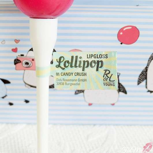 Rival de Loop Young Lollipop Lipgloss, Farbe: 01 candy crush