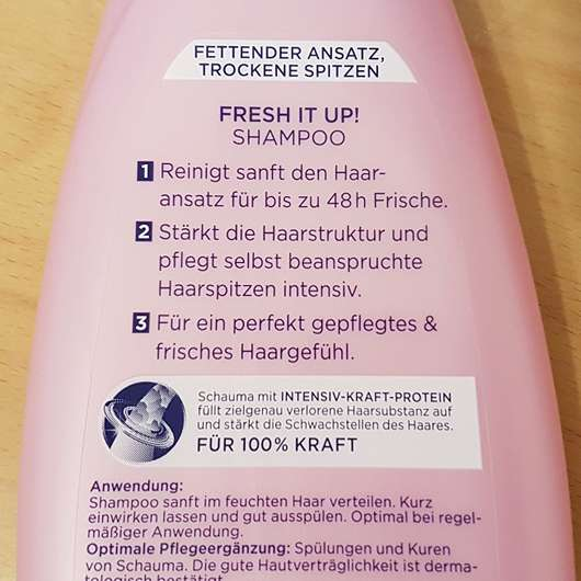 Schwarzkopf Schauma Fresh It Up! Shampoo
