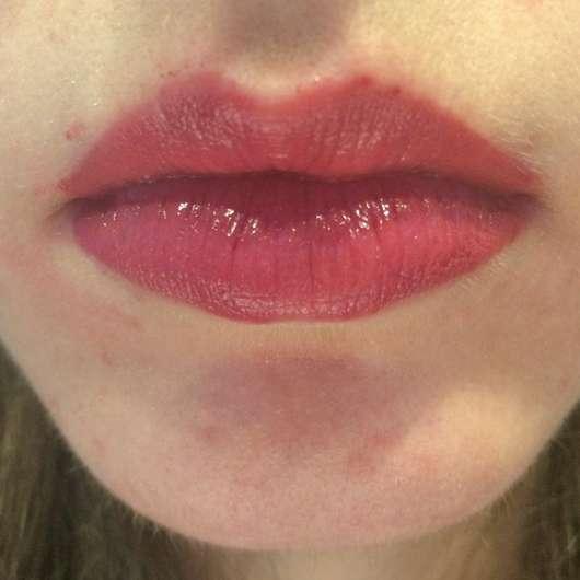 Lippen mit Sleek MakeUP Lip Shot Gloss Impact, Farbe: Behind Closed Doors
