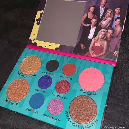 Sola Look Beverly Hills 90210-Palette