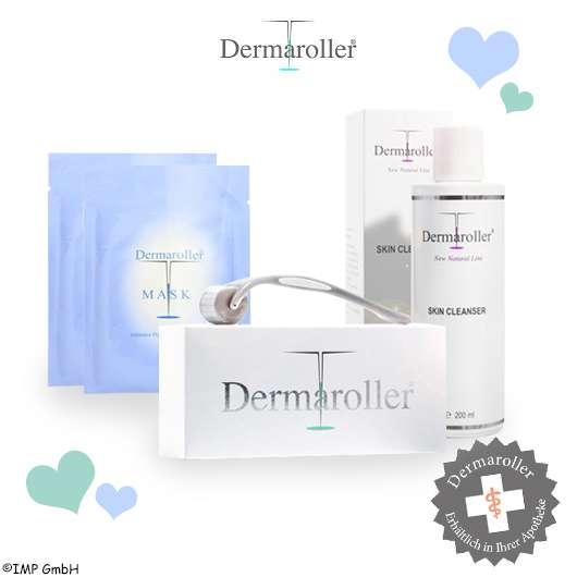 DERMAROLLER Hautpflege-Set