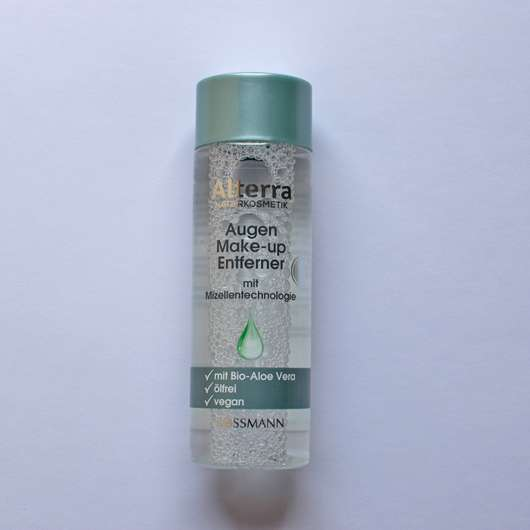 <strong>Alterra Naturkosmetik</strong> Augen Make-up Entferner mit Mizellentechnologie