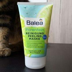 Produktbild zu Balea Porenfein 3in1 Reinigung Peeling Maske (normale & Mischaut)