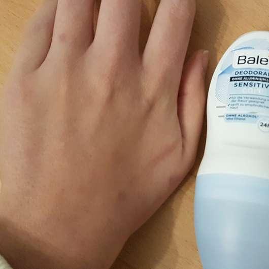 Konsistenz - Balea Sensitive Care Deodorant Roll-On