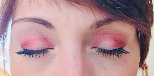 Augen Make-up mit Khaki und Dubai
