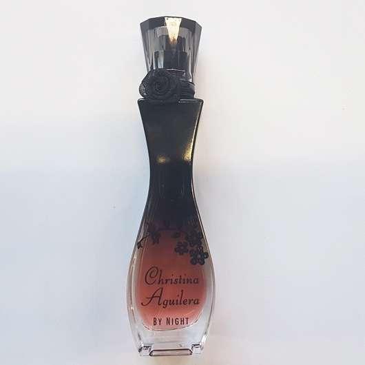 Flakon des Christina Aguilera By Night Eau de Parfum