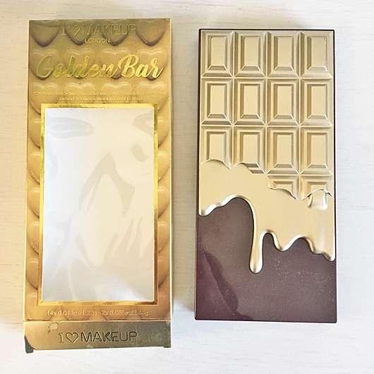"I Heart Revolution I Heart Chocolate ""Golden Bar"" Lidschatten Palette"