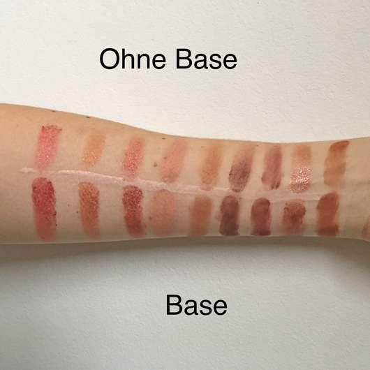 Swatches der Farben 10-18 von links nach rechts