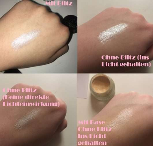Swatches - Make up Factory Pure Pigments, Farbe: 03 Gleam of Light