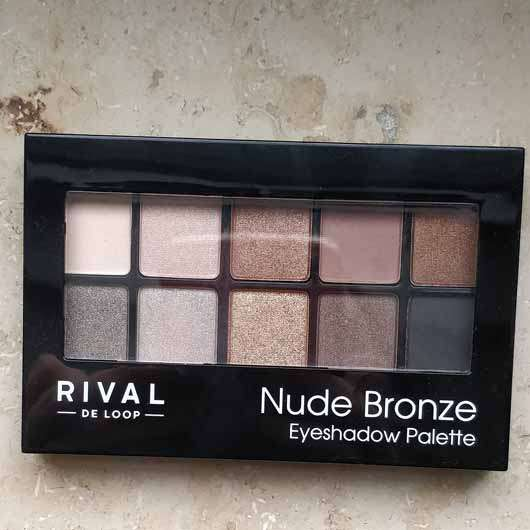 <strong>Rival de Loop</strong> Nude Bronze Eyeshadow Palette