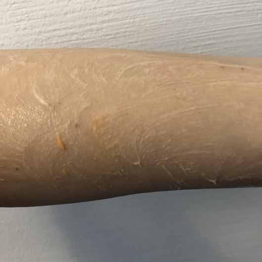 treaclemoon papaya summer Körperpeeling - Konsistenz verrieben