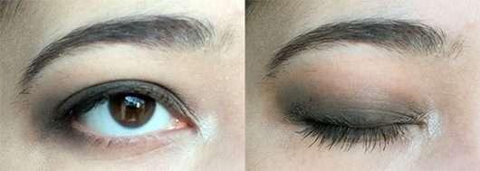 Smokey Eyes mit der Palette