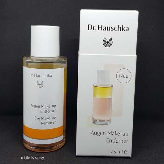 Dr. Hauschka Augen Make-up Entferner mit gratis Abschminkpads