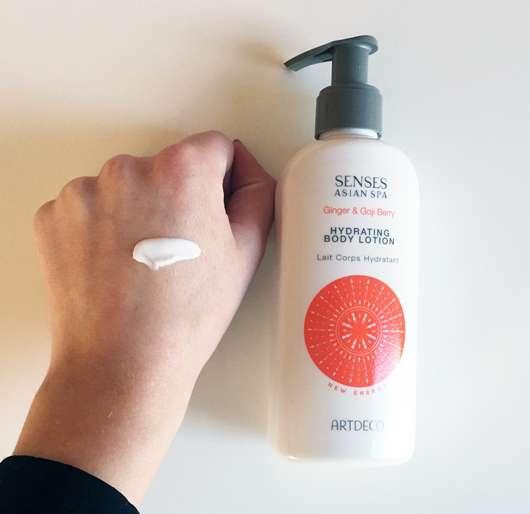 ARTDECO Asian Spa New Energie Hydrating Body Lotion - Konsistenz