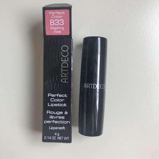 ARTDECO Perfect Color Lipstick, Farbe: 833 lingering rose (LE)