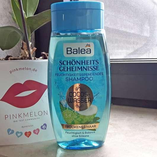 Balea Schönheitsgeheimnisse Feuchtigkeitsspendendes Shampoo Cocos-Wasser