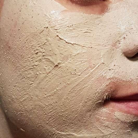 Balea Totes Meer Maske (intensiv reinigend) - Konsistenz im Gesicht