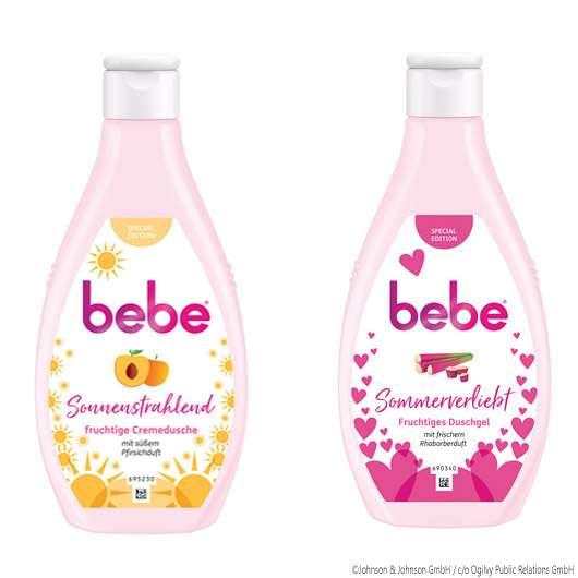 bebe: Fruchtig-süße Duschprodukte
