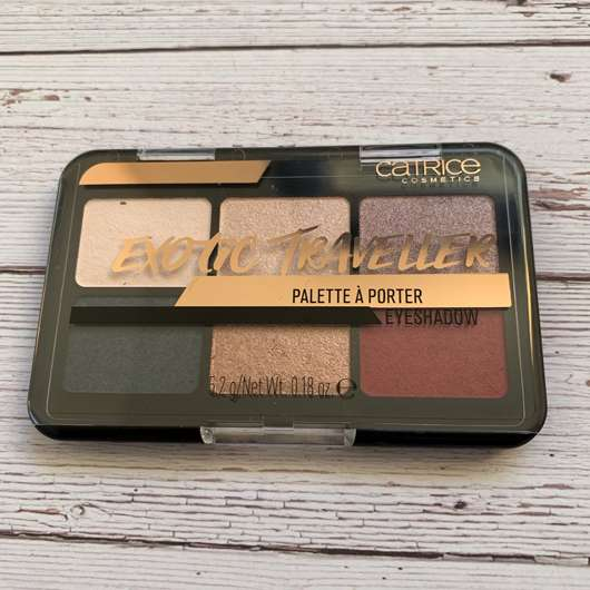 <strong>Catrice</strong> Exotic Traveller Palette À Porter Eyeshadow - Farbe: 030 Wanderlust