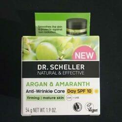 Produktbild zu DR. SCHELLER Argan & Amaranth Anti-Falten Pflege Tag LSF 10