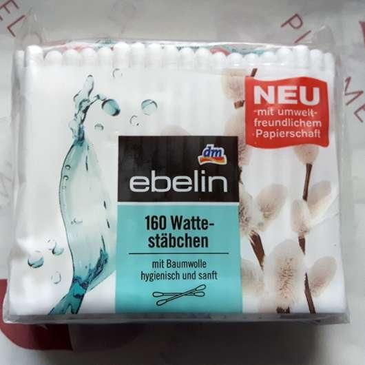 ebelin 160 Wattestäbchen (Nachfüllpack)