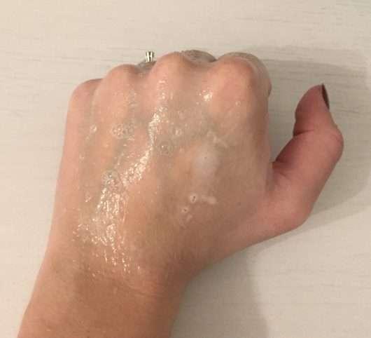 Konsistenz - Garnier Fructis Coco Water Kräftigendes Shampoo