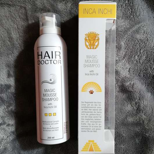 <strong>HAIR DOCTOR</strong> Magic Mousse Shampoo